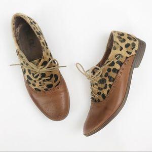 Vegan Leather & Cheetah / Leopard Shoes